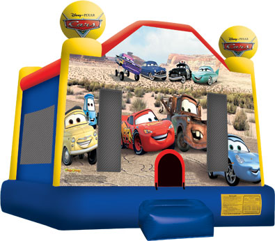 Cars Medium Jumping Castle