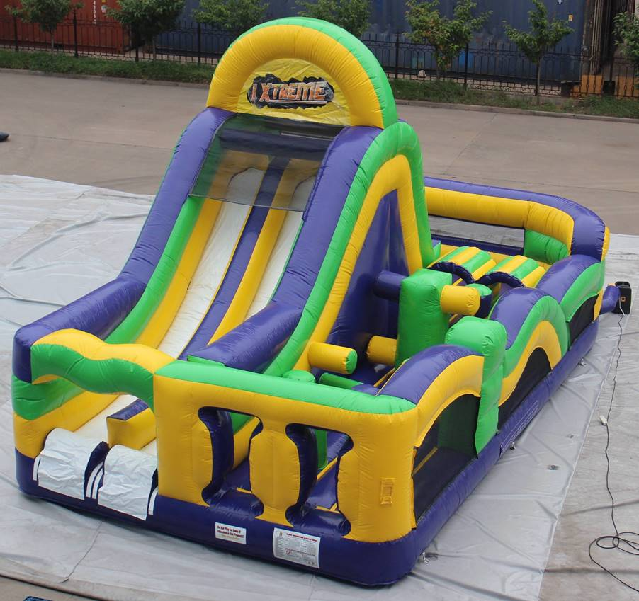 Inflatable Slide Hire Gold Coast: Extreme Run 1