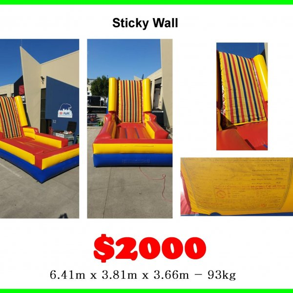 Sticky Wall secondhand