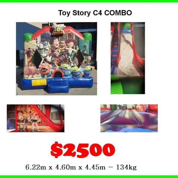 Toy Story C4 Secondhand