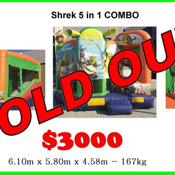 Shrek 5 in 1 secondhand